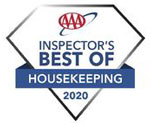 Inspectors  Best of Housekeeping Badge | Captain David Kelley House, Centerville, MA