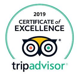 TripAdvisor Cert Of Excellence Award 2019 | Captain David Kelley House Bed & Breakfast, Cape Cod