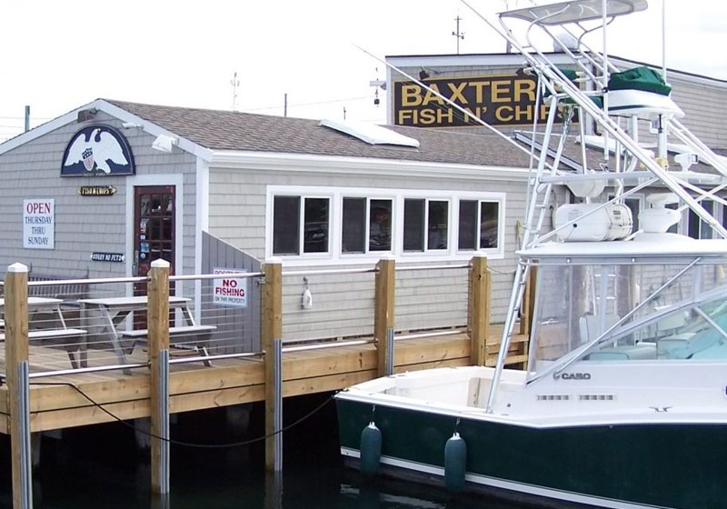 Baxter's Boathouse | Captain David Kelley House, Centerville, MA