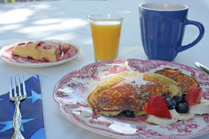Maple Cinnamon French Toast with Fresh Strawberries | Captain David Kelley House, Centerville, MA