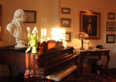 Piano | Captain David Kelley House Bed & Breakfast, Cape Cod