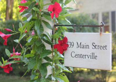 Main Street Centerville Signage | Captain David Kelley House, Centerville, MA