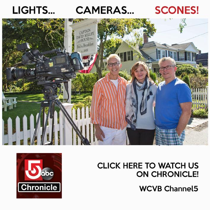 Press and Media | Captain David Kelley House in Cape Cod Massachusetts