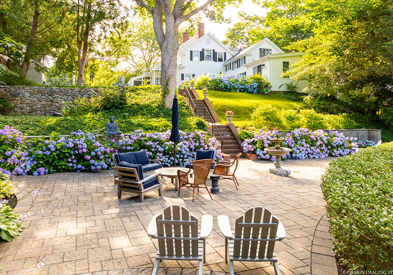Patio | Captain David Kelley House, Centerville, MA